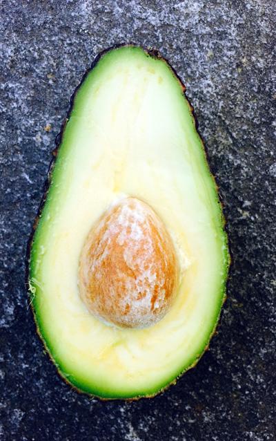 Halbe Avocado