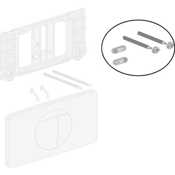 Sanit Montageset 201020000 für Druckplatte bis 980 spk
