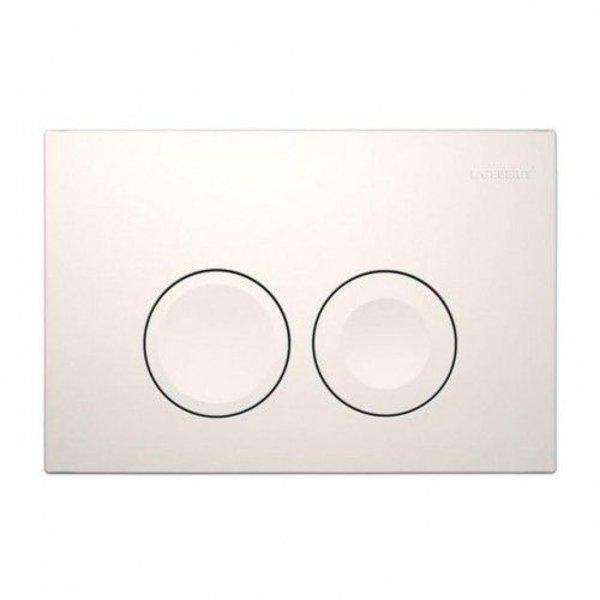 Geberit Geberit UP 100 drukplaat dubbele spoeling ronde knoppen