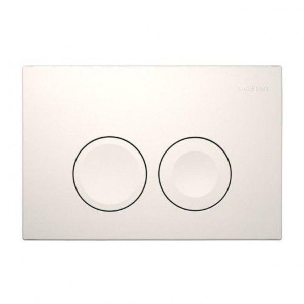 Geberit Geberit UP 100 flush plate double flush round buttons