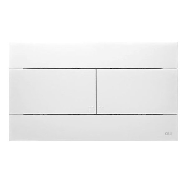 Oliver Control panel Slim built-in cistern oliver better 2 buttons white
