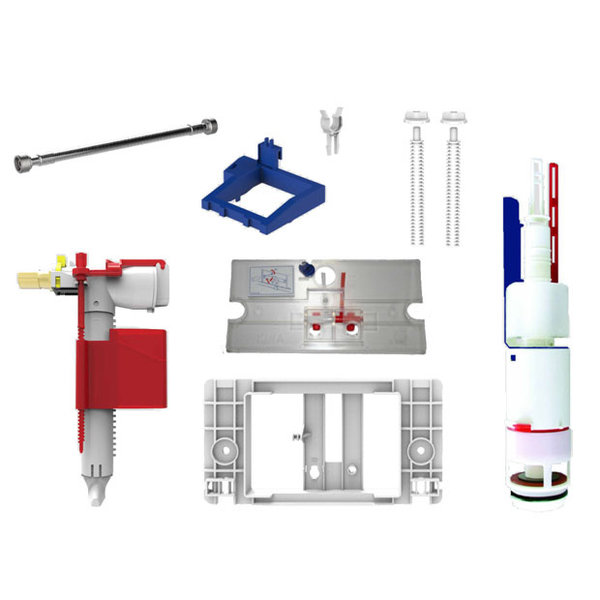 Sanit Sanit reservoir 995 conversion set from single to double flush