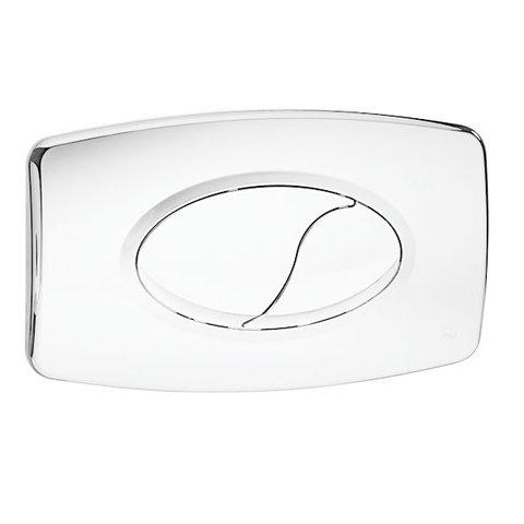 Oliver Irmao Oriental pressure plate double flush white