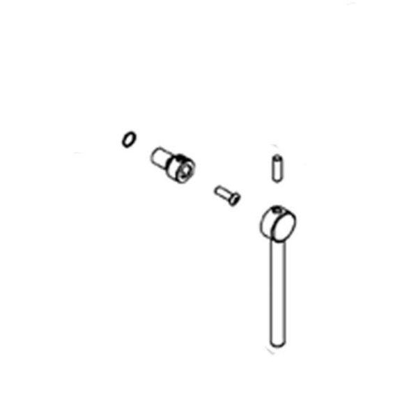 Nobili Griff für Nobili Plus PL00198 Wandmischer