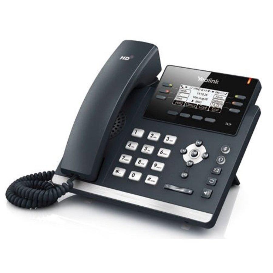 SIP-T41P VoIP telefoon voor 3 lijnen