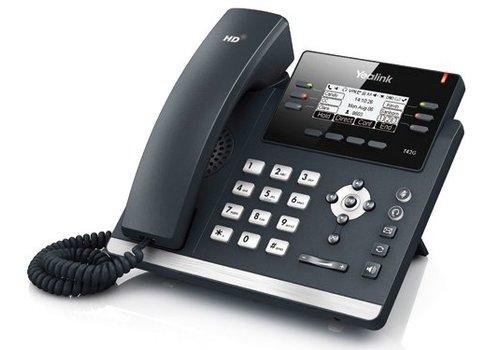 YeaLink SIP-T42G Gigabit VoIP telefoon voor 3 lijnen