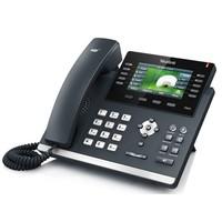 SIP-T46G Gigabit VoIP telefoon voor 6 lijnen