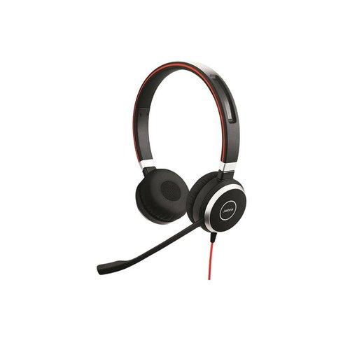 Jabra Evolve 40 MS Stereo voor PC (SfB) & Mobiel (3,5mm Jack)