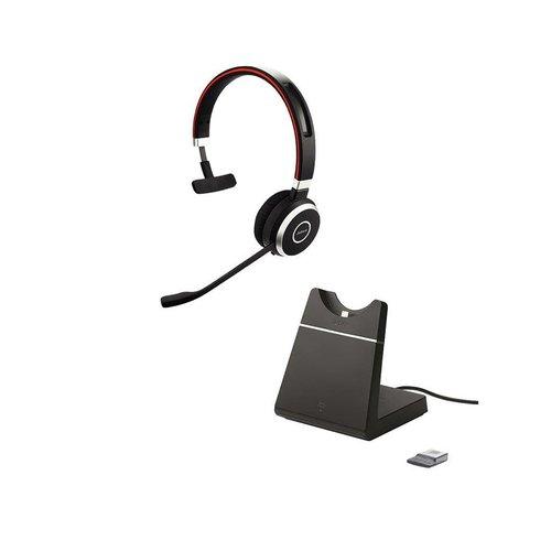 Jabra Evolve 65 MS Mono inc. charging stand