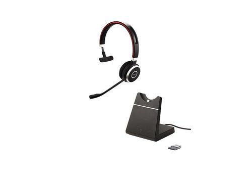Jabra Evolve 65 UC Mono inc. charging stand