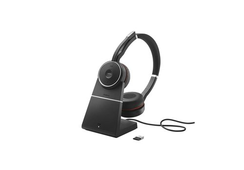 Jabra Evolve 75 MS Stereo inc. charging stand
