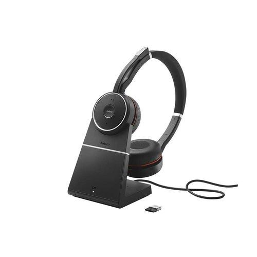 Jabra Evolve 75 MS Stereo inc. charging stand