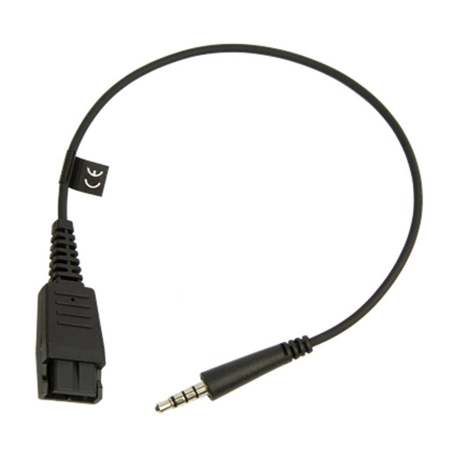 QD cord for Speak