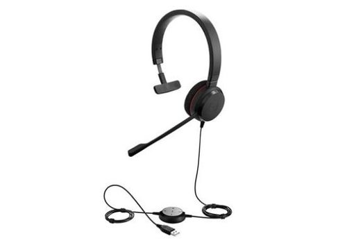 Jabra Evolve 20 MS Mono voor PC (Sfb & Teams)