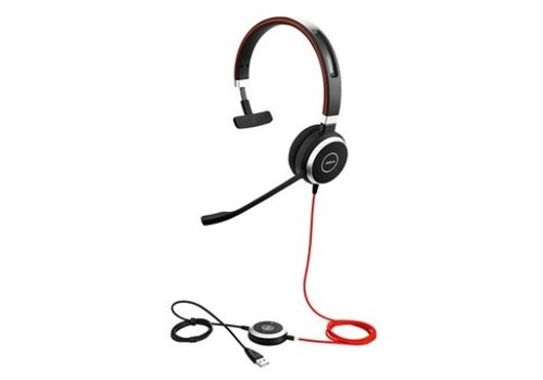 Jabra Evolve 40 MS Mono voor PC (Teams) & mobiel