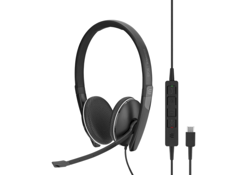EPOS | Sennheiser SC 165 Duo Headset USB-C