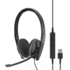 EPOS | Sennheiser SC 165 Duo Headset met USB & 3,5mm jack