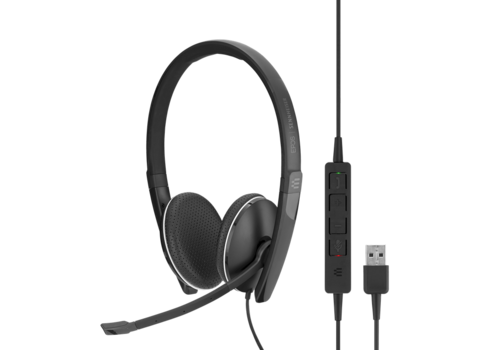 EPOS | Sennheiser SC 165 Duo Headset met USB & 3,5mm jack