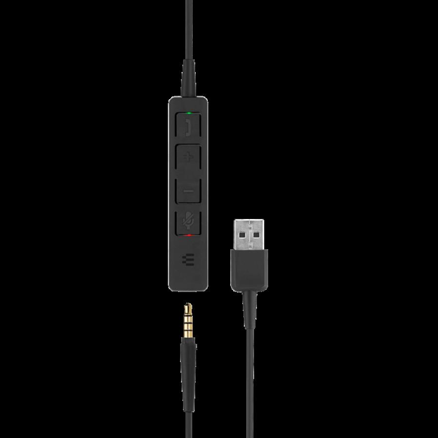 SC 165 Duo Headset met USB & 3,5mm jack