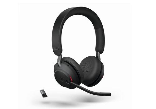 Jabra Evolve 2 65 MS Stereo USB-A (Black) Microsoft Teams & Sfb