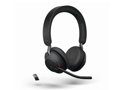 Jabra Evolve2 65 MS Stereo USB-A (Black) Microsoft Teams & Sfb
