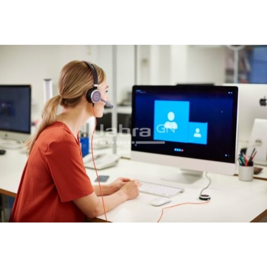 Evolve 40 MS Stereo USB voor Microsoft Teams/ SfB & Mobiel (3,5mm)