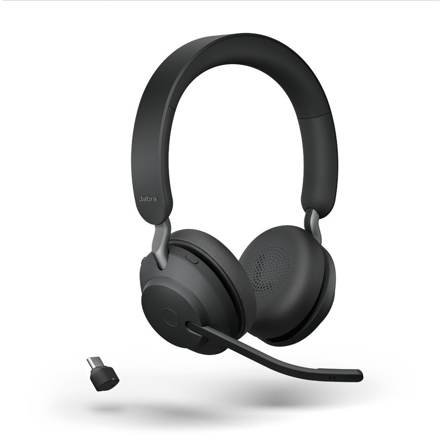 Evolve2 65 MS Stereo USB-C (BLACK) Microsoft Teams &  SfB