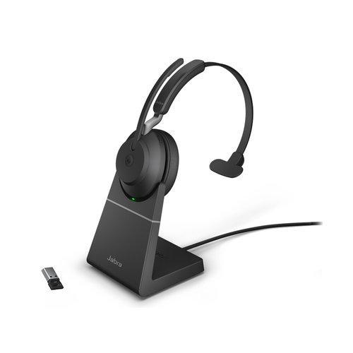 Jabra Evolve2 65 USB-A MS MONO STAND (BLACK)