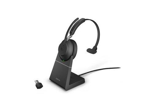 Jabra Evolve2 65 USB-C UC MONO STAND (BLACK)