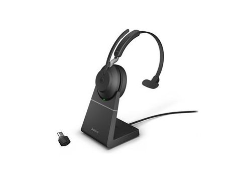 Jabra Evolve2 65 USB-C MS MONO STAND (BLACK)