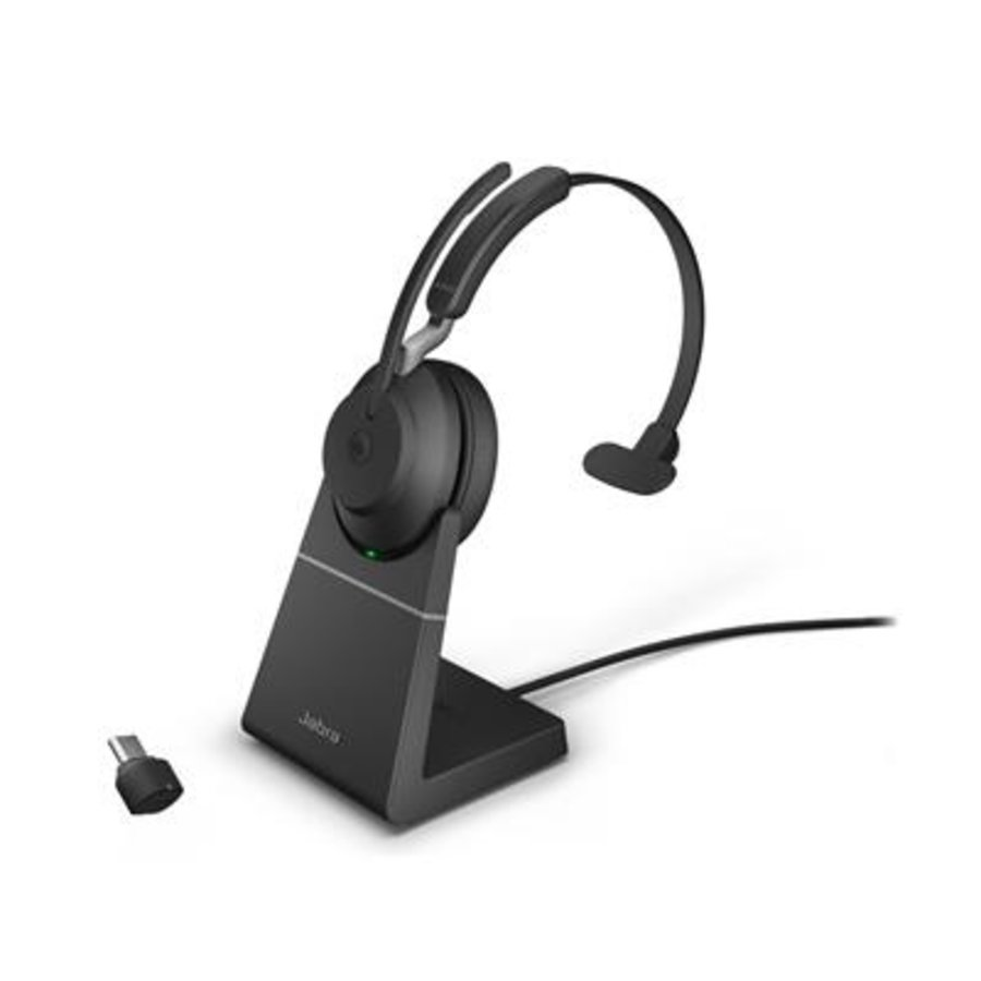 Evolve2 65 USB-C MS MONO STAND (BLACK)