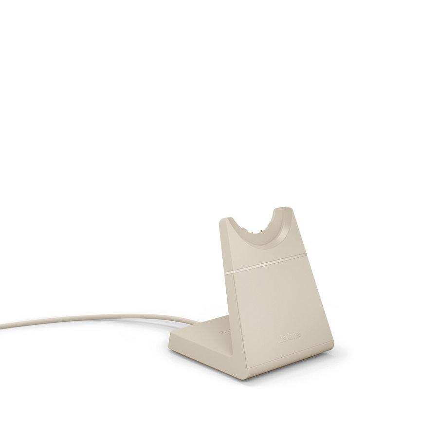Evolve2 65 USB-C UC MONO STAND (BEIGE)