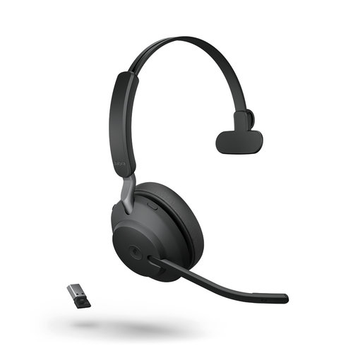Jabra Evolve2 65 USB-A UC MONO (BLACK)