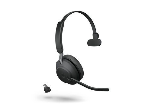 Jabra Evolve2 65 USB-C MS MONO (BLACK)