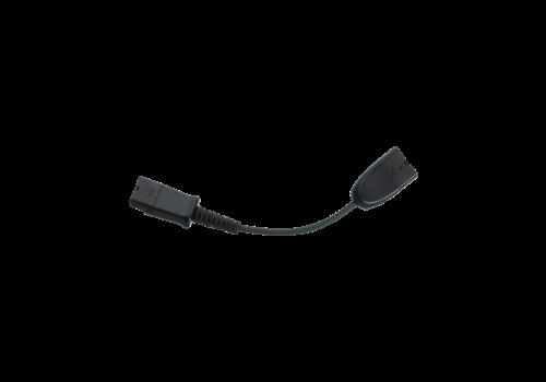 Plantronics audio kabel (6 pin naar 4 pin adapter)