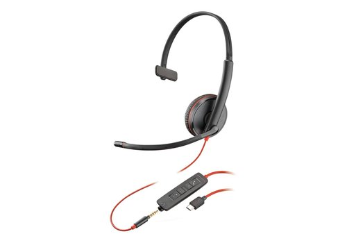 Poly Blackwire C3215 USB-C + 3.5mm