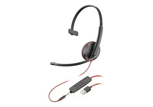 Poly Blackwire C3215 USB-A + 3.5mm
