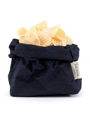 UASHMAMA® Paper Bag Dark blue