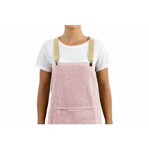 UASHMAMA® Apron Old Pink