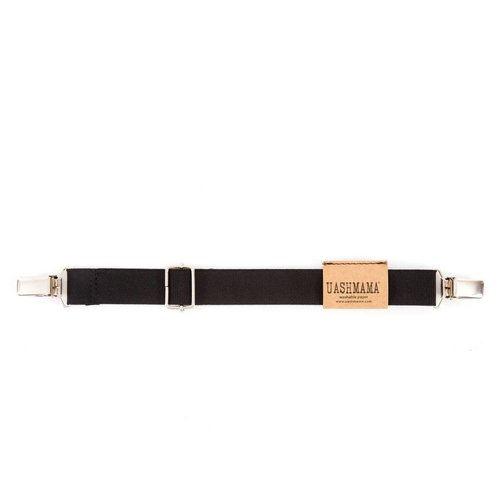 UASHMAMA® Mini Suspender Elastic Black