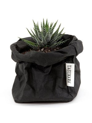 UASHMAMA® Sac en papier noir
