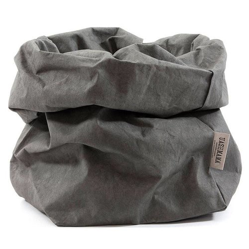 UASHMAMA® Paper Bag Dark Grey