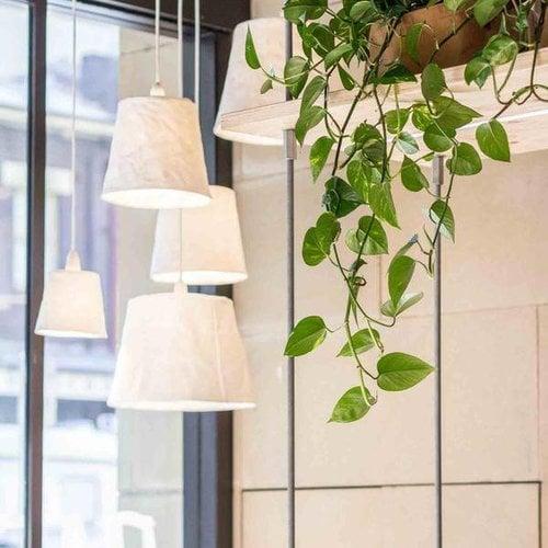 UASHMAMA® Hanging lamp Paniere White