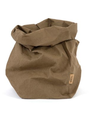 UASHMAMA® Paper Bag Olive