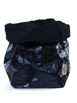 UASHMAMA® Paper Bag Donkerblauw & Petrolio