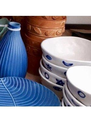 Kom (12 cm)  (blauwe figuurtjes)