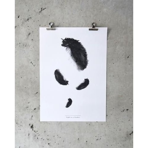 Crisp Sheets Poster Feather