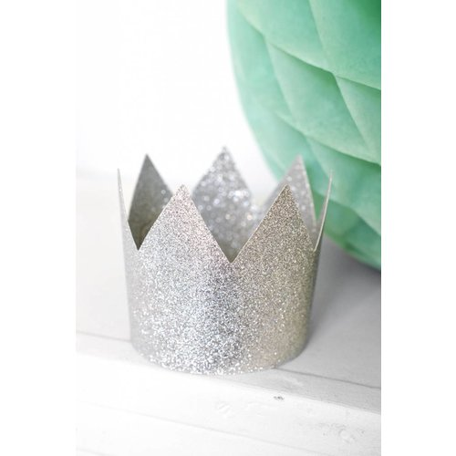 Delight Department  Party Crowns Silver | 8 pieces