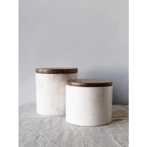 Opbergpot Marmer Small | 9 x Ø 10 cm