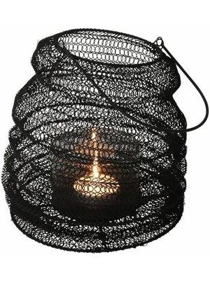Vent léger pliant Noir   23x30cm